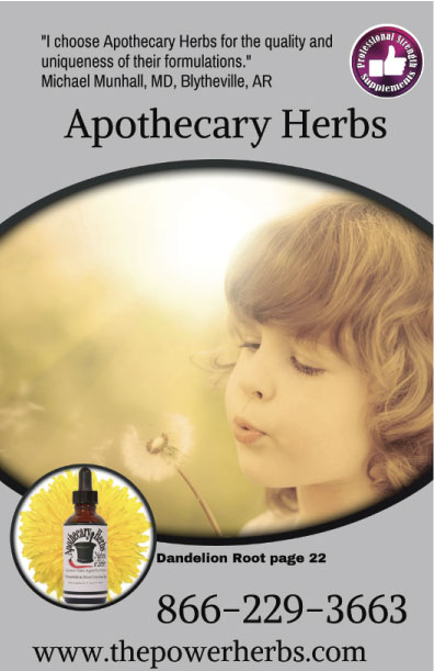 New 2019 Apothecary Herbs Free Product Catalog: The Power Herbs